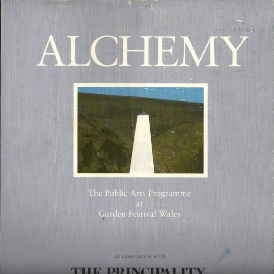 Alchemy - Public Arts Programme at Garden Festival Wales 1992 catalogue cover