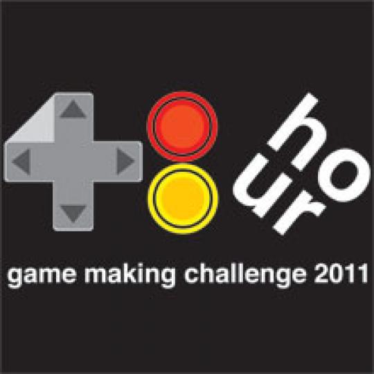 48hr making gaming challenge 2011 logo