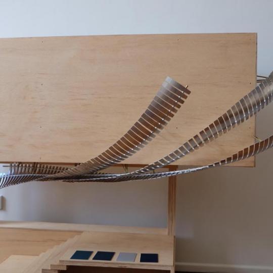 Fish Lane Concept Model, 2015