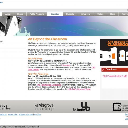 ABC 2011 - Screen Shot