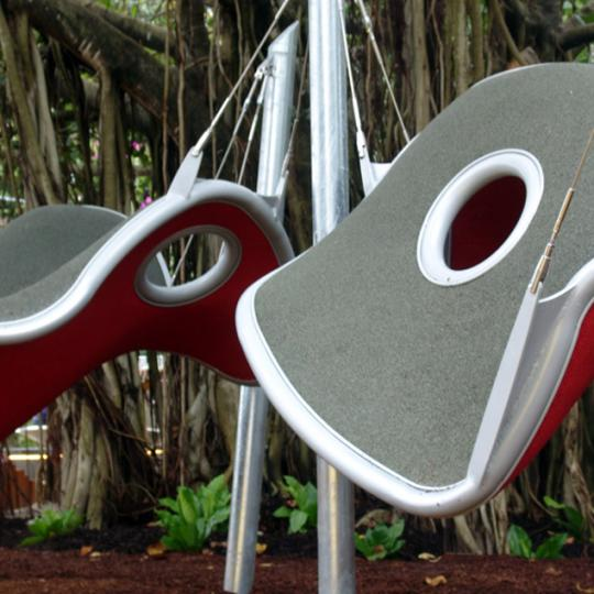 play plates: interactive sculptural playscape